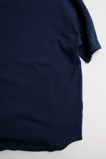 ARAN French SS Tee NAVY (4)