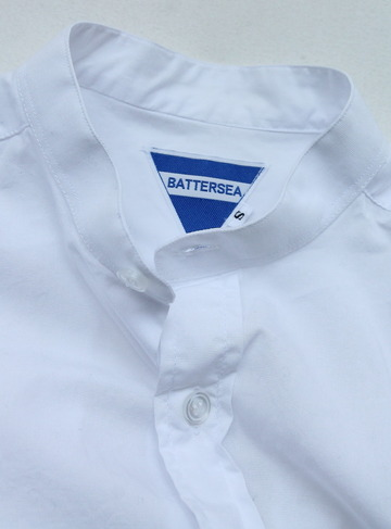 BATTERSEA Grandad Shirt WHITE (4)