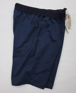 Felco Gym Shorts Mini French Terry NAVY (2)