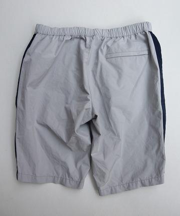MIDA Nylon Shorts with Linner GREY X NAVY (3)