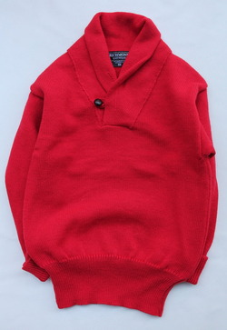 Richmond Knitwear Submariner Shawl RED