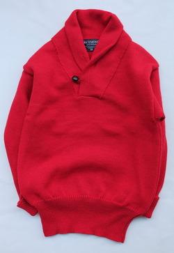 Richmond Knitwear Submariner Shawl RED