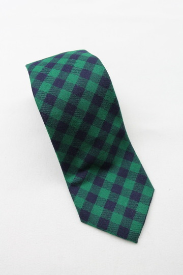 CANDIDUM Bright Check Tie GREEN X BLUE (4)