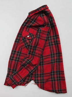 EMPIRE & SONS Work Tab Shirt Flannel Check RED Check (2)