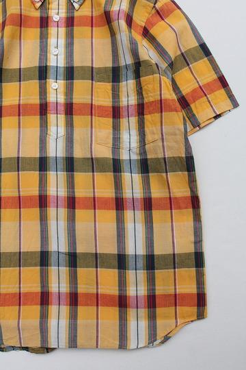 SERO PO Button Down Shirt SS ORANGE (4)