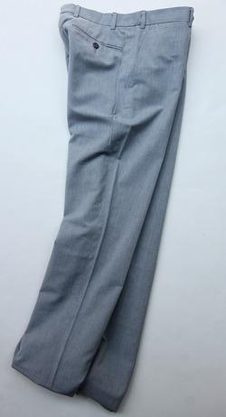 Mabitex Hair Lane Oxford Pants BLUE GREY (2)