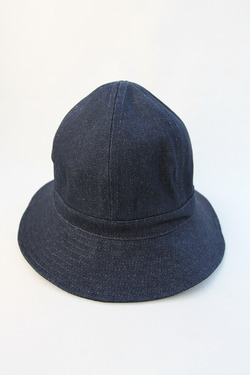 Au Vrai Chic BRITAIN Dome Hat DENIM