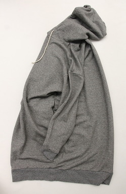 Le ciel de Harriss Sweat Hoodie Dress GREY (4)