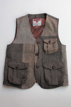 Keaton Chase Remake Harris Tweed Hunting Vest (9)