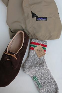 Nep 3 Line Socks GREY