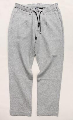 Arbre Continental Island Cotton 1P Easy Pants GREY (4)
