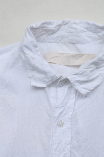 Vasy Lettlement Regular Collar SSL Oversized Shirt WHITE (2)