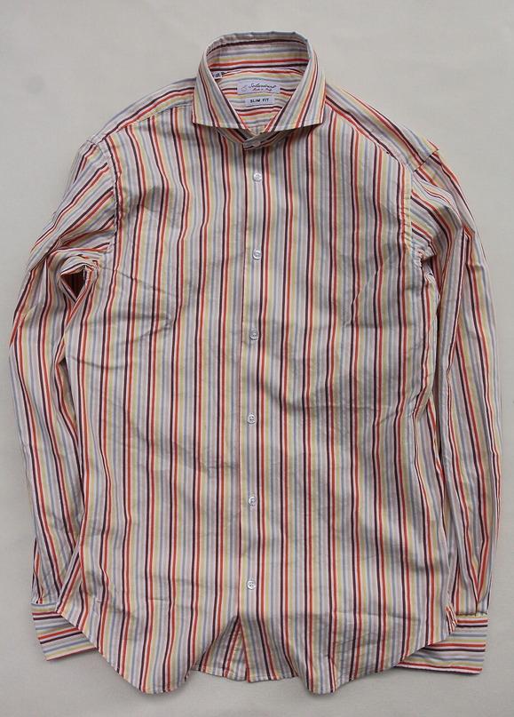 Solandrino Multicolor Stripe Cutaway ORANGE X YELLOW