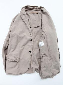 Vasy Lettlement Side Vents Tailored Jacket ASH BEIGE (4)