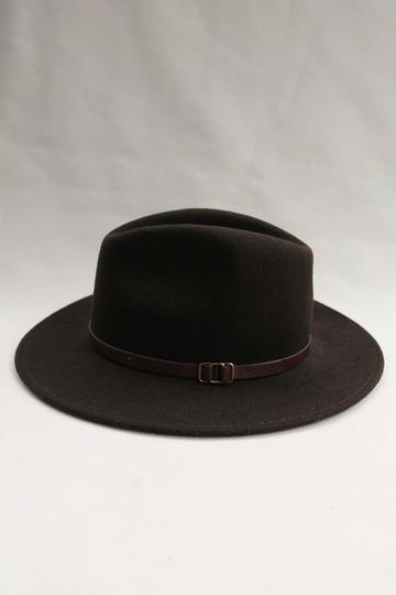 SORBATTI Mens Crushable Felt Hat BROWN (5)