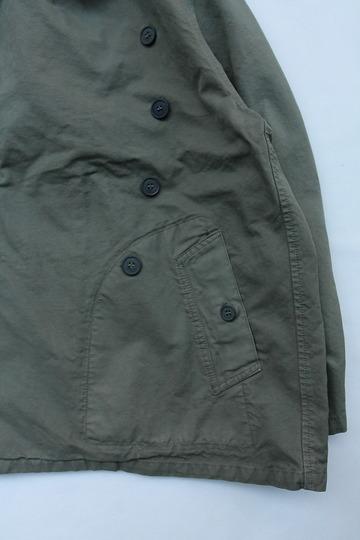 HTS Double Over Coat ARRAS GREEN (4)