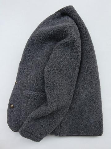 COLDBREAKER Mens Cardigan CHARCOALl (2)