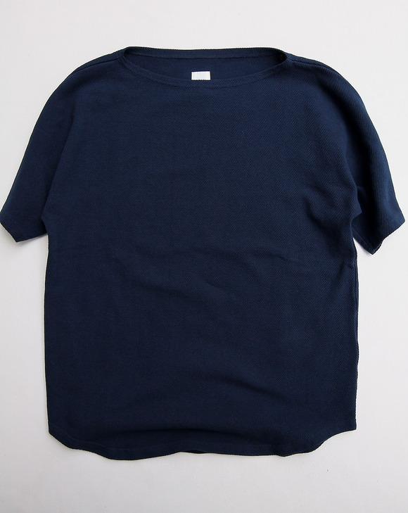 ARAN French SS Tee NAVY