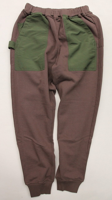 Chums Utility Pocket Pants Sweat KHAKI (4)