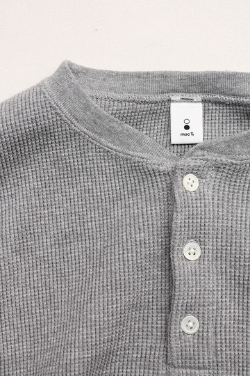moc T Henry Neck Pullover Loose Fit Waffle (2)