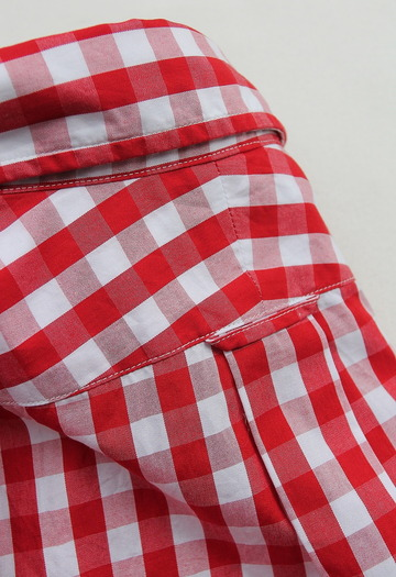 Harriss Big Gingham LS BD RED (4)