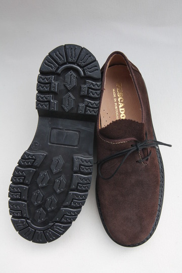 PESCADOR Tirorian Suede BROWN (6)
