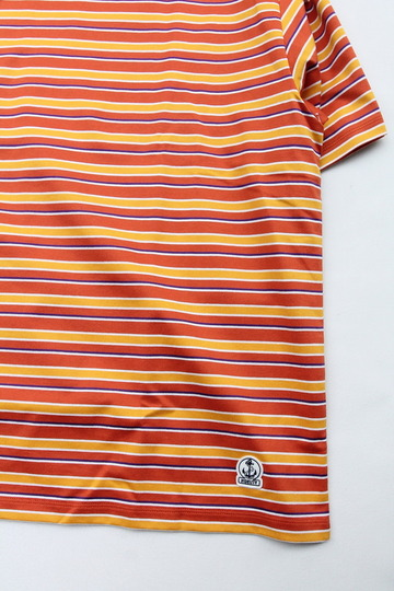 FIDELITEY Multi Border SS Tee ORANGE (3)