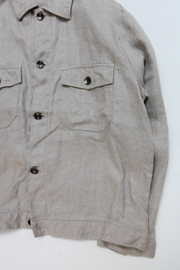 RICEMAN Work Shirt Jacket OATMEAL (3)