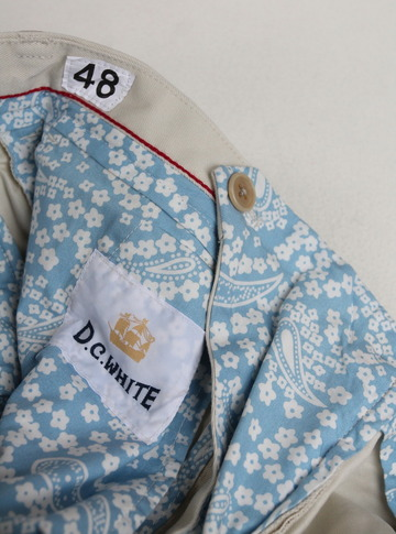 DC WHITE Chino Pants OFF WHITE (2)