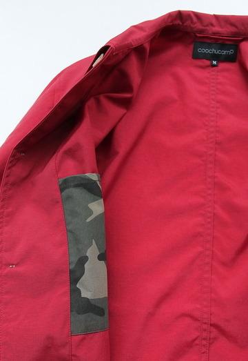 coochucamp Happy Shirt Coat RED (4)