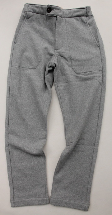 Arbre HW Cotton Sweat Easy Pants GREY (4)