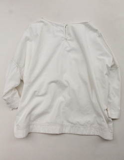 Le ciel de Harriss 34 Sleeve Cotton Pullover ECRU (5)