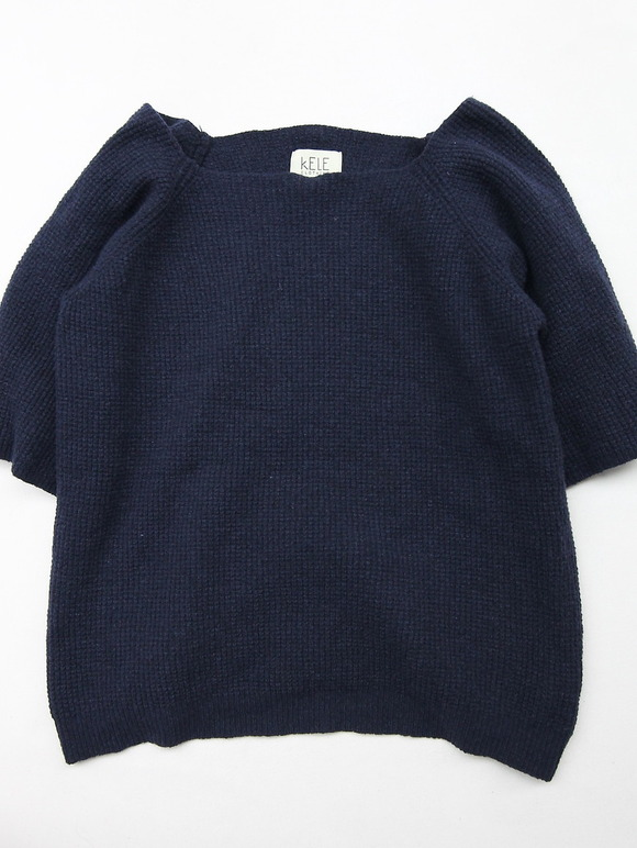KELE CLOTHING Top MIDNIGHT BLUE