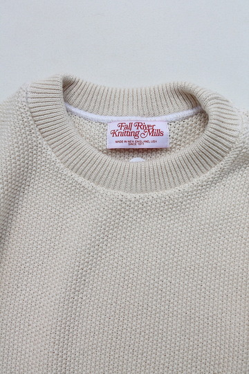 Fall River Knitting Mills Crew Neck Sweater NATURAL (2)