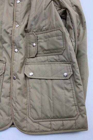 Mighty Mac Quilt Jacket BEIGE (3)