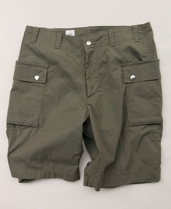 ARAN Field Shorts CT Rip OLIVE