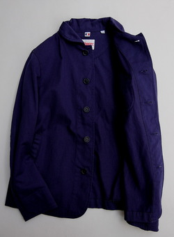Ouvert RC Work Jacket F BLUE (3)