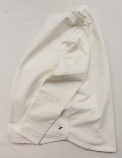 Harriss Cotton Bind Boat Neck SW Shirt NATURAL (4)