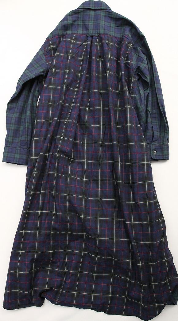 Harriss Tartan Plaid Shirt Dress (4)
