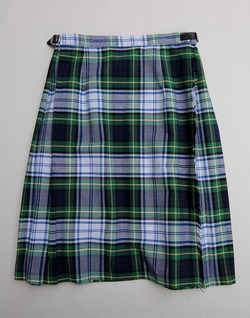 ONEIL of Dublin Kilt Midi NAVY Dress Stewart (3)