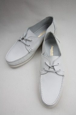 Wandershoes Leather Deck WHITE (2)