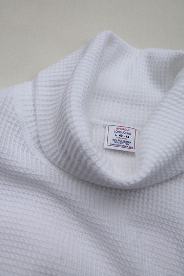 JE MORGAN Thermal Turtle Neck WHITE (4)