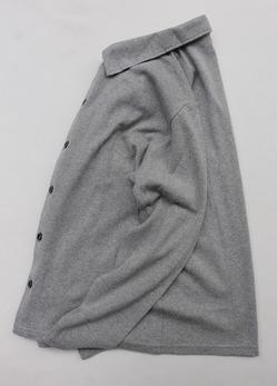 Baxter Ratcliff  LS Shirt W Polo GREY MARL (5)