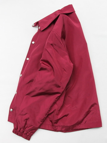 Felco Nylon Coach Jacket BURGUNDY (6)
