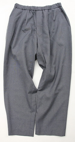 CEASTERS 2 Pleats Easy Trousers LIGHT GRAY (5)