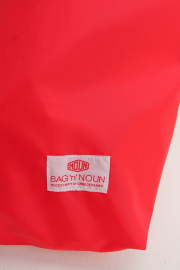 BAG n NOUN Nylon Pack RED (2)