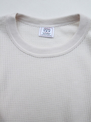 JE MORGAN Crew Neck Thermal NATURAL (2)