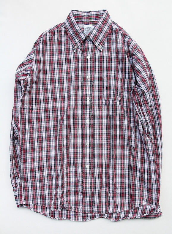 The Baggy Broadcloth Tartan BD Red Plaid