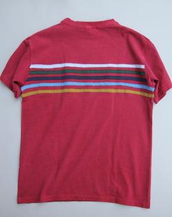 Goodon 5 Line Tee F RED (3)
