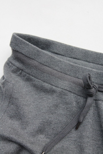 YaYa Wool Sweat Pants DARK GREY MELANGE (2)